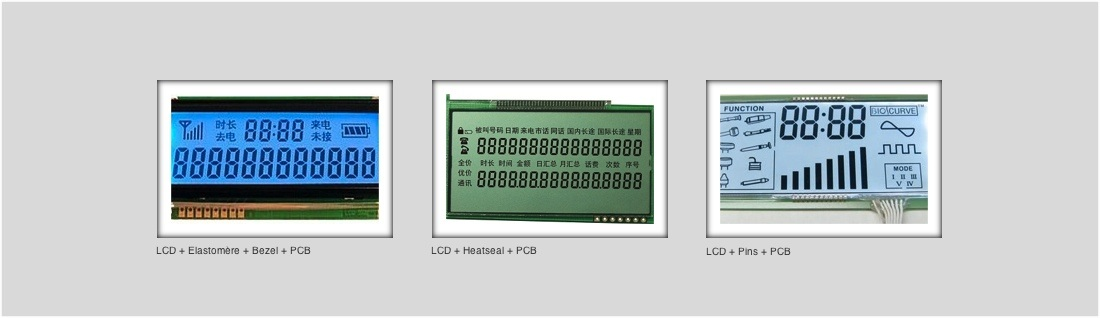 Exemple d'application Module LCD