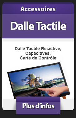 Dalle Tactile Capacitive Résistive